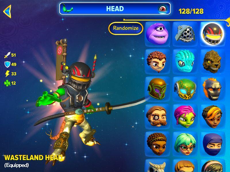 Skylanders Imaginators App