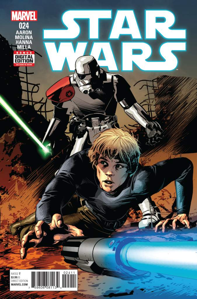 Mike Deodato, Star Wars, Star Wars 24, Star Wars Comics, Marvel