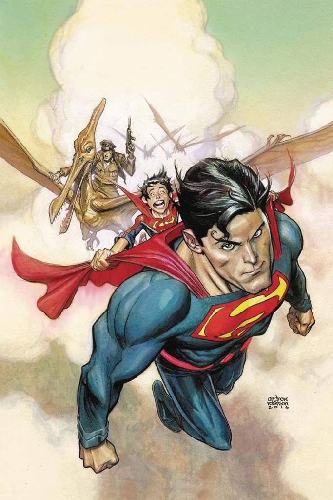Andrew Robinson, Superman 9, Suprman Rebirth, Dinosaur Island
