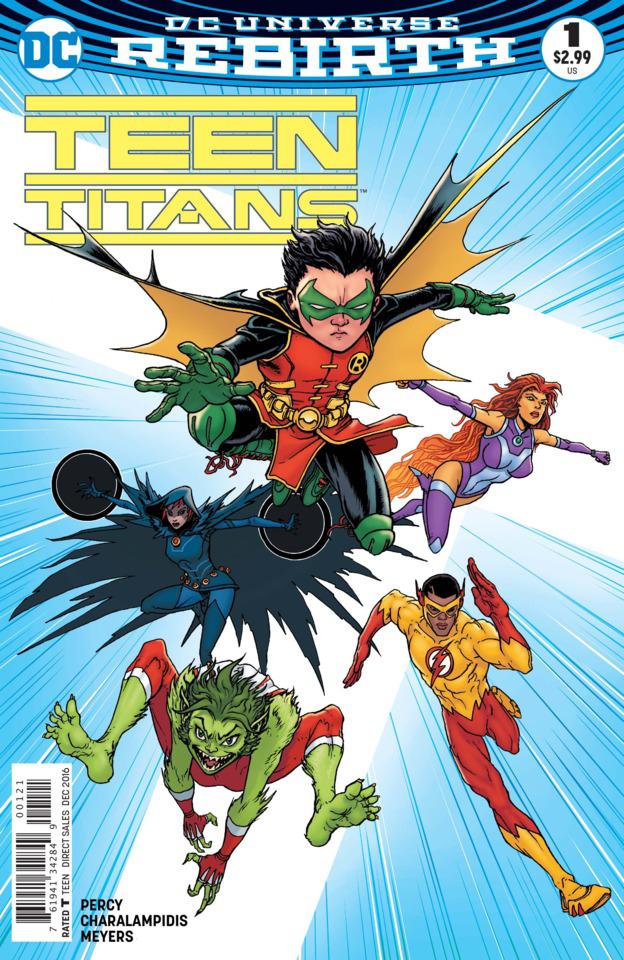 Teen Titans, Teen Titans 1, Chris Burnham art