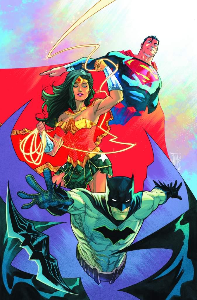 Francis Manapul, DC Comics, Trinity 2, Trinity