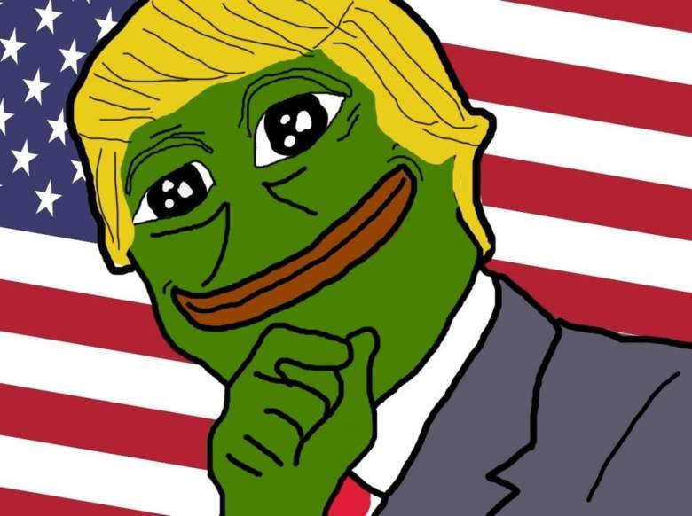 Donald Trump Pepe, Trump Pepe the Frog, pepe the frog meme trump