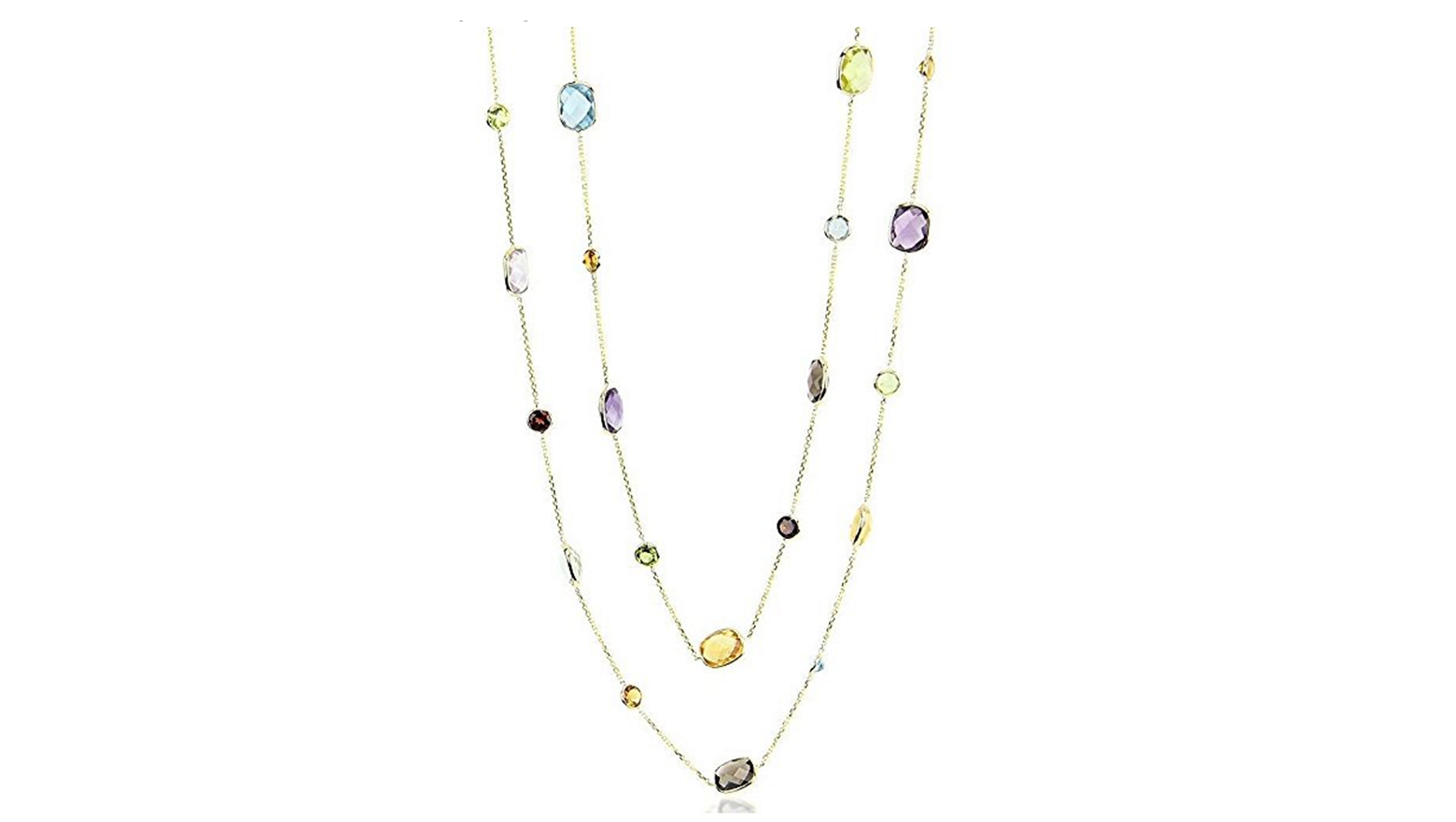 Amazon, cyber monday, cyber monday sales, cyber monday deals, gemstone necklace, gold necklace, jewelry