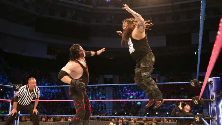SmackDown live Kane, kane vs bray wyatt, wwe kane bray wyatt