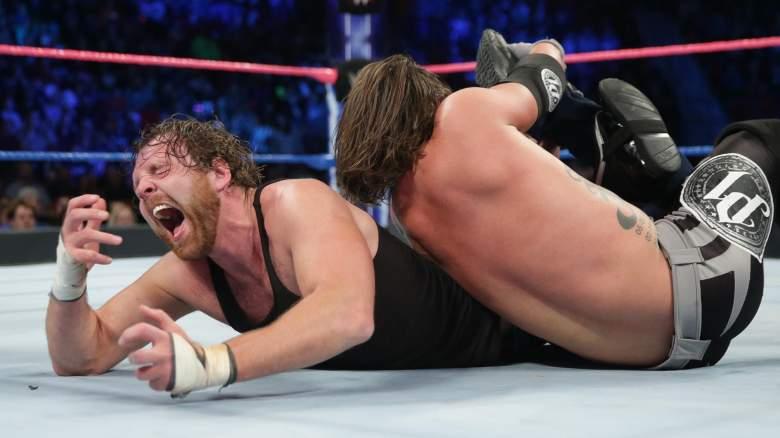 Dean Ambrose AJ Styles, wwe smackdown ambrose styles match, wwe smackdown live dean ambrose