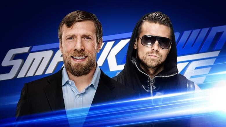 SmackDown Live Daniel Bryan, SmackDown Live The Miz, daniel bryan the miz
