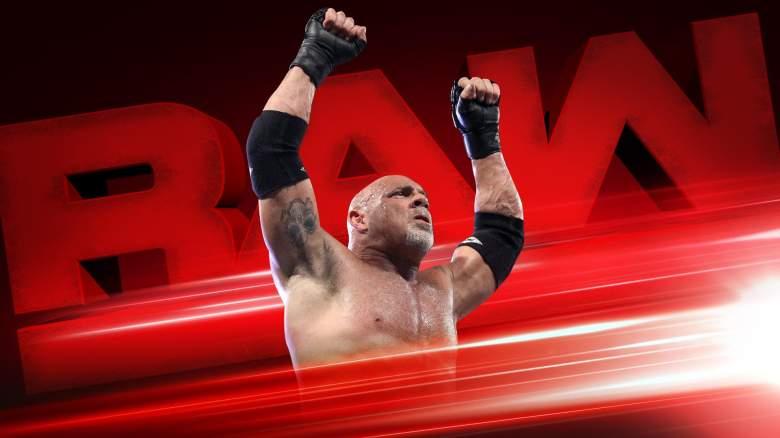Monday Night Raw, wwe raw, wwe raw goldberg