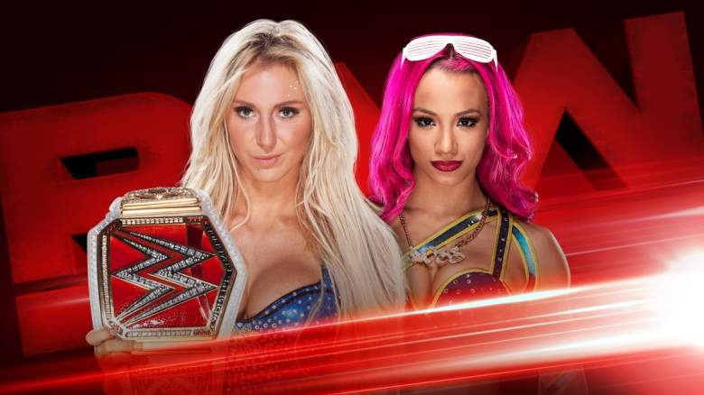 Monday Night Raw, Sasha Banks Charlotte, Monday Night Raw Sasha Banks Charlotte