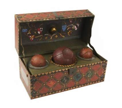 quidditch dollectible set, best harry potter gifts