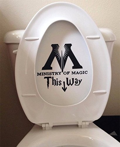 ministry of magic decal, best harry potter gift