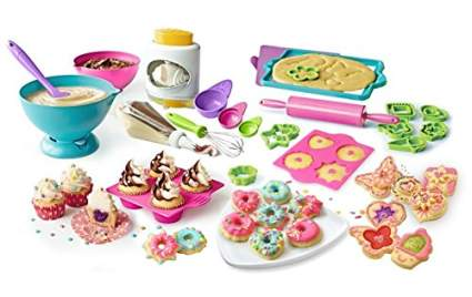 Real Cooking Supreme Baking Set - 70 Pc. Kit Includes Mixes, Candy, Chocolate & Frosting , best creative gift