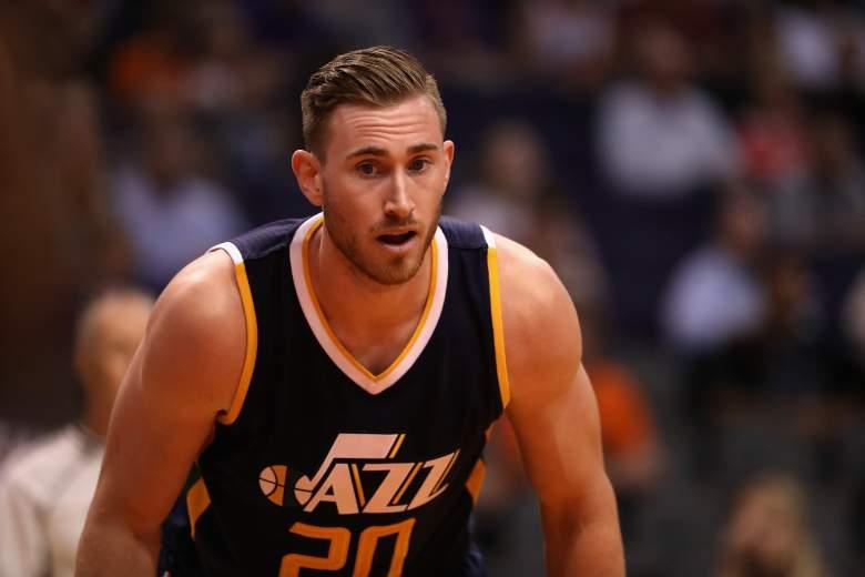 Gordon Hayward Jazz vs. 76ers