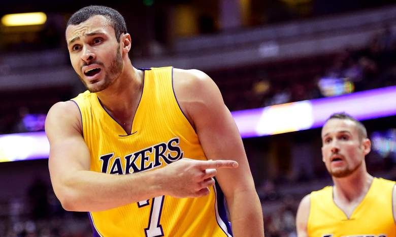 Larry Nance Jr. Los Angeles Lakers
