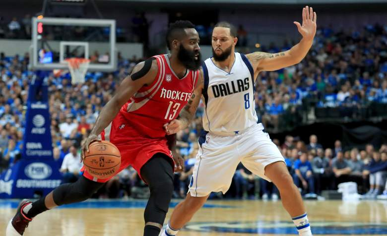 James Harden Deron Williams Rockets vs. Mavericks