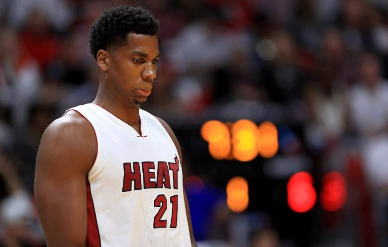 Hassan Whiteside Hornets vs. Heat
