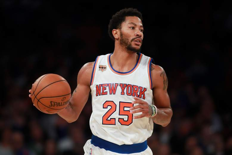Derrick Rose Grizzles vs. Knicks