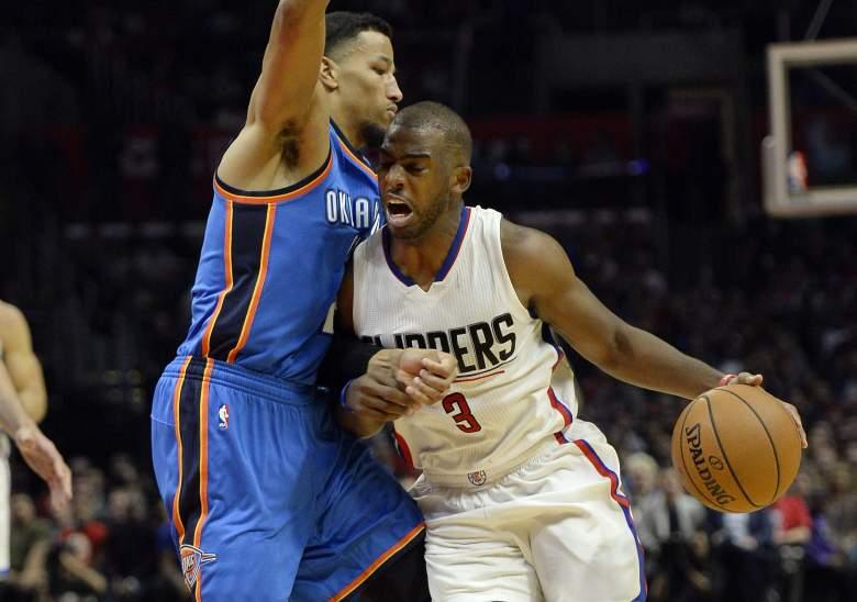 Chris Paul Thunder vs. Clippers