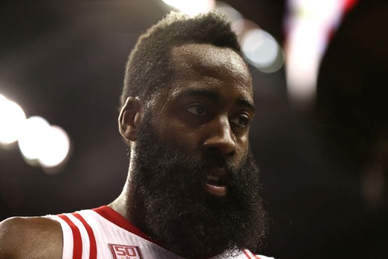 James Harden Rockets vs. Wizards