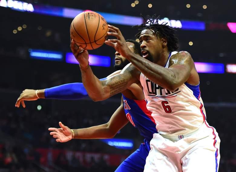 DeAndre Jordan Pistons vs. Clippers