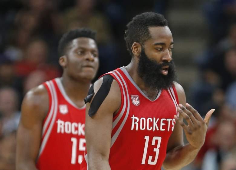 James Harden Rockets vs. Spurs