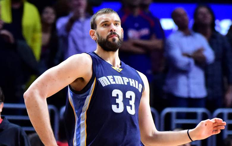 Marc Gasol Grizzlies vs. Clippers