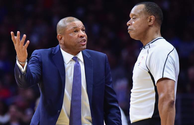 Doc Rivers, NBA Official