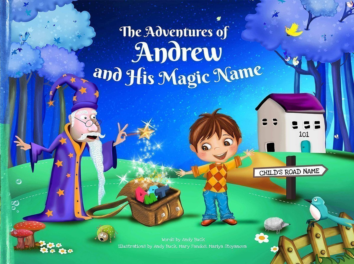 personalized kids book