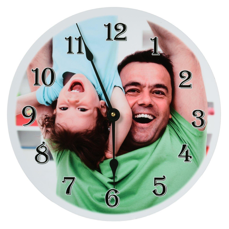 customizable photo wall clock