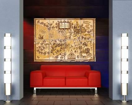 giant harry potter map, best harry potter gift