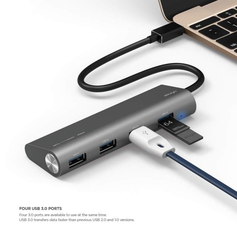 best usb hubs, best usb c hubs, usb c hubs for macbook, difference usb c thunderbolt, usb c converter macbook