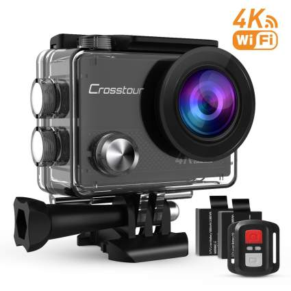 rosstour 4K Sports Action Wide Angle Underwater Camera