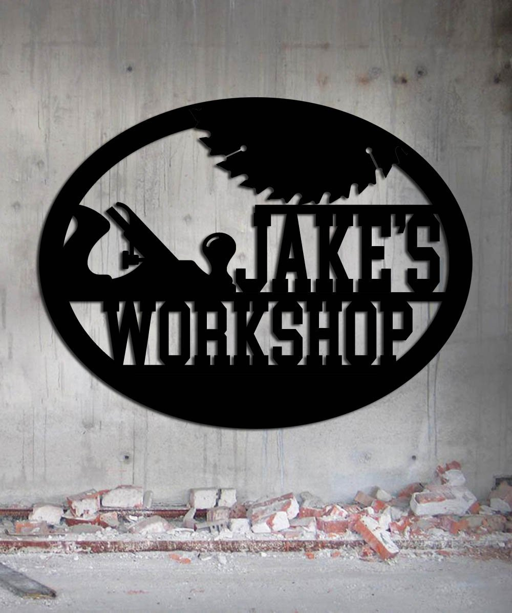 custom workshops sign