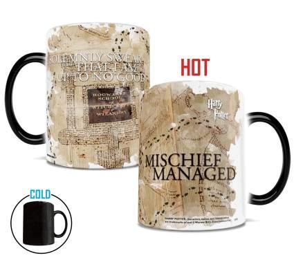 marauders map, morphone mug, best harry potter gift