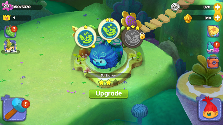 Trolls Crazy Party Forest
