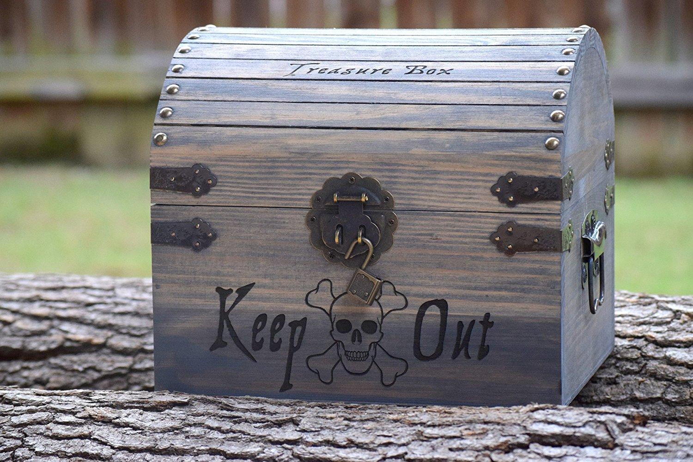 personalized kids treasure chest