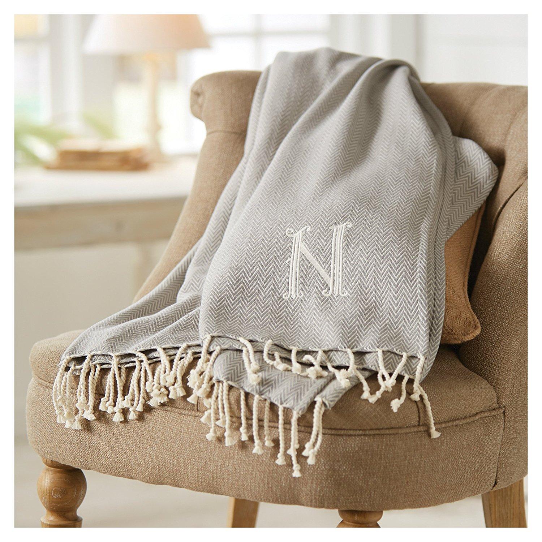 herringbone initial blanket