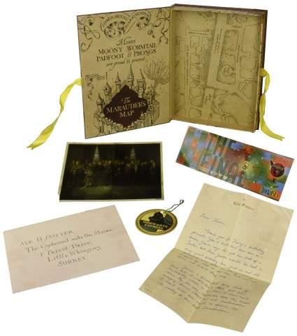 harry potter artefact box, ron weasley, hermione granger, best harry potter gift