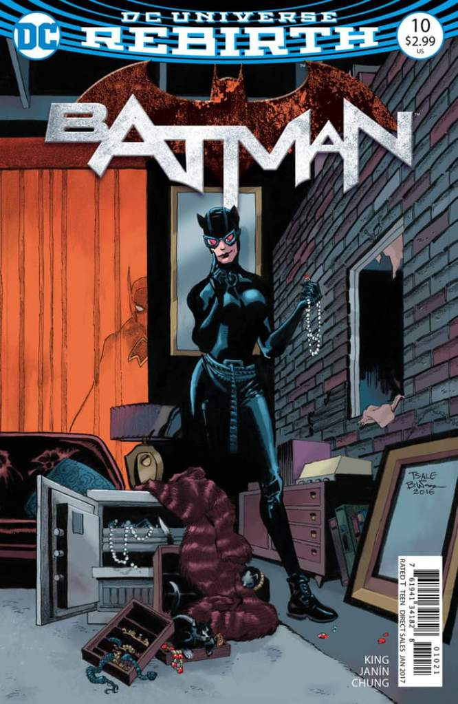 Tim Sale, Catwoman comics, Batman 10, Batman Rebirth