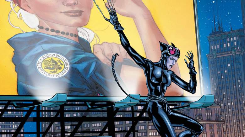 Catwoman, Catwoman: Election Night, DC Comics, Catwoman comics