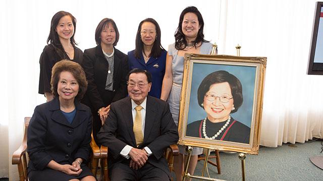 Elaine Chao family, chao family, Elaine Chao mother