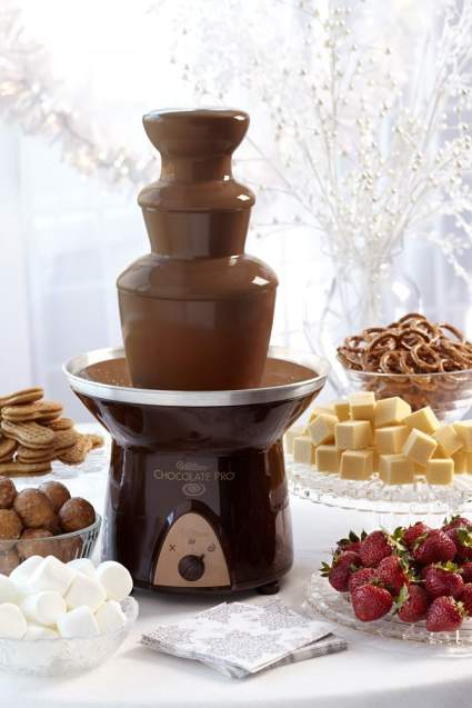 chocolate gifts, christmas gifts, chocolate fountain