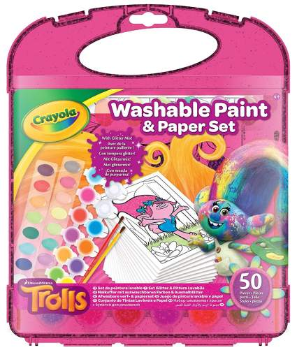 crayola trolls set