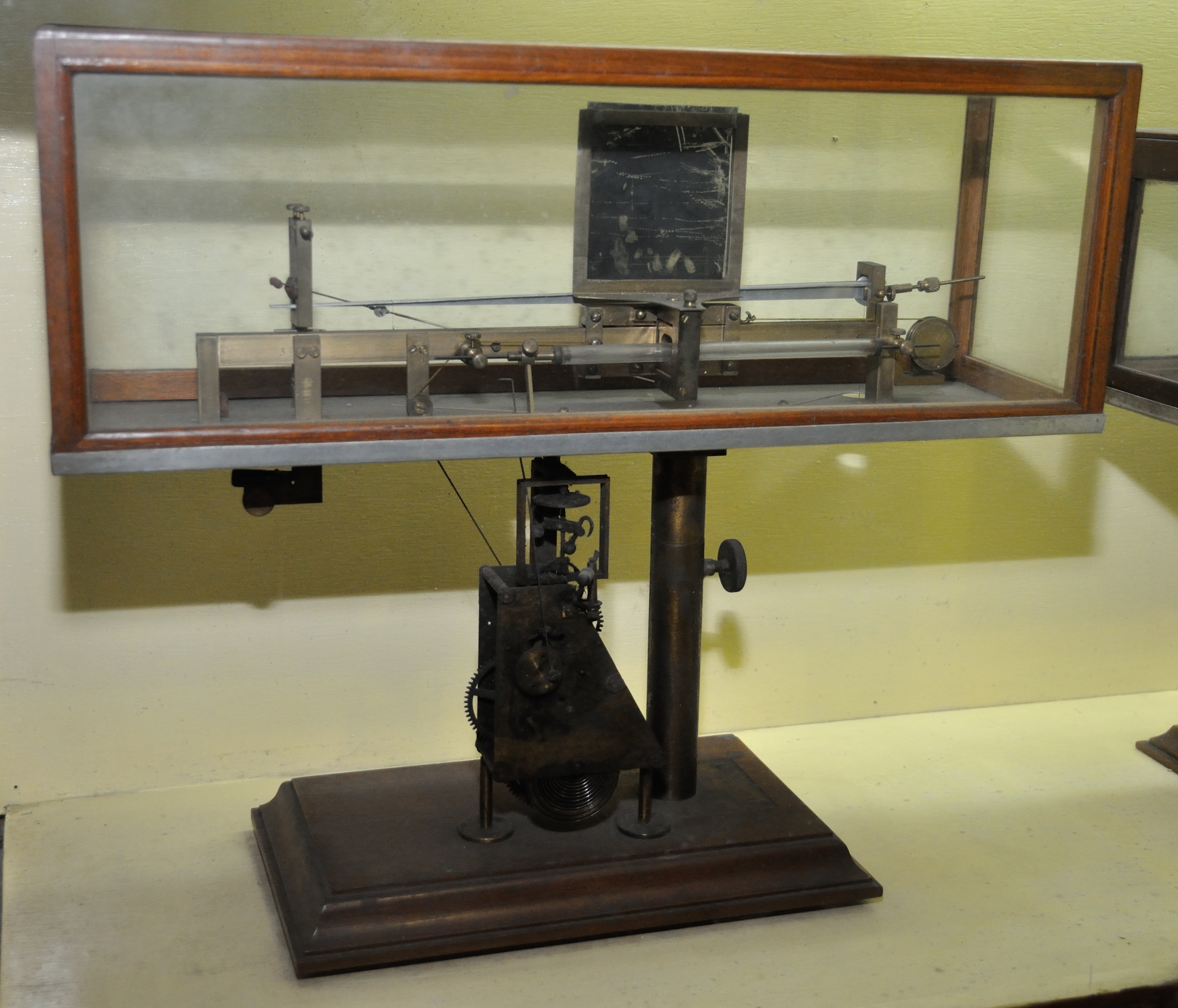 The crescograph, invented by Jagdish Chandra Bose. (Wikimedia Commons)