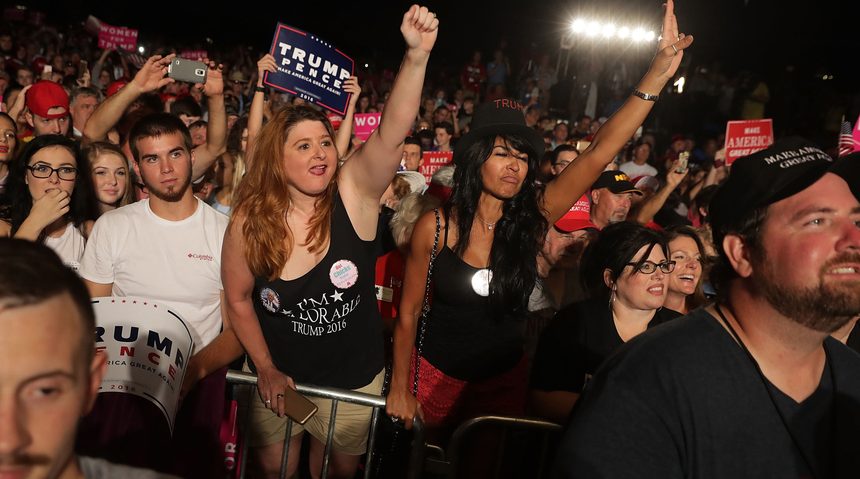 Donald Trump supporters, shy Trump voters, Trump vs. Clinton polls, 2016 Presidential polls, can trump win election, Hillary Clinton leading polls, new politico morning consult poll