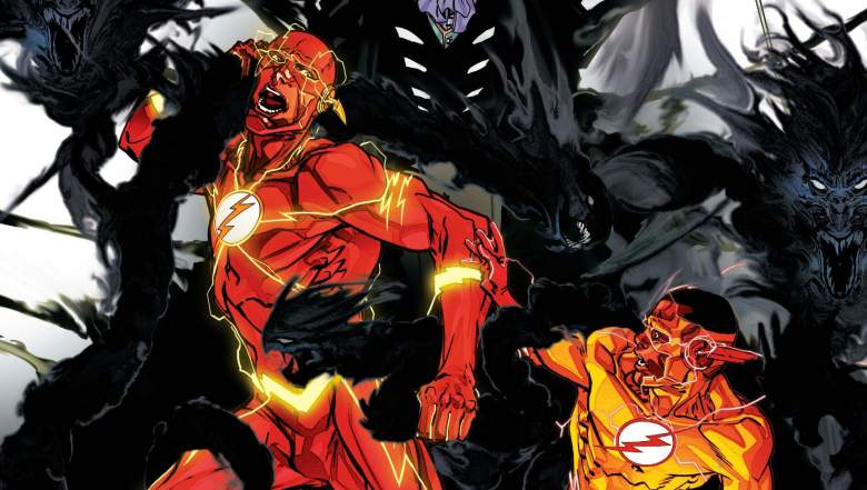 Carmine Di Giandomenico, The Flash, The Flash rebirth