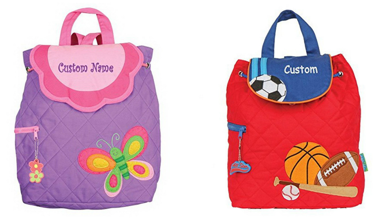 personalized kid's backpack
