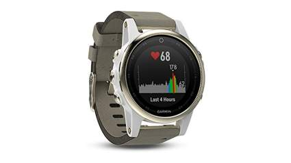 Garmin smartwatch and fitness tracker