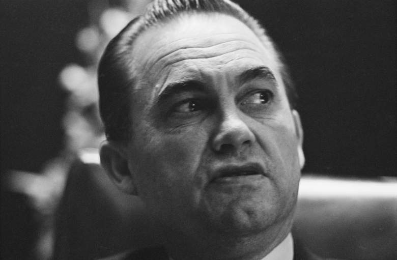 George Wallace, third-party candidate, 1968 presidential election