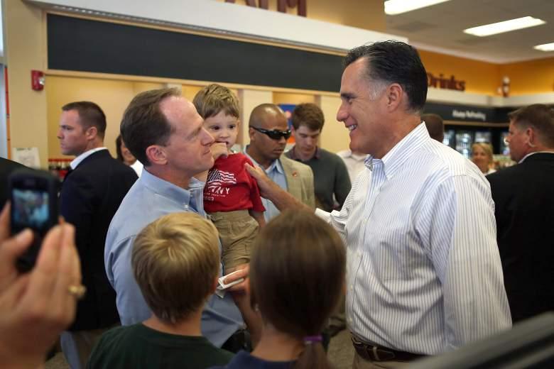 Pat Toomey and Mitt Romney, Pat Toomey Bio, Pat Toomey endorsement