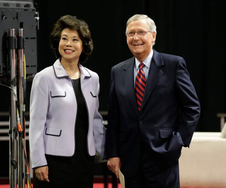 Elaine Chao husband, Elaine Chao mitch mcconnell, mitch mcconnellwife